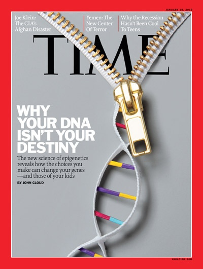 Time Magazine Cover: Your DNA Isn't Your Destiny