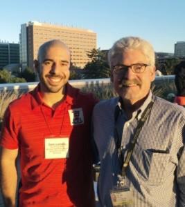 Photo: Sam Lomeli and Dr. Jim Hill