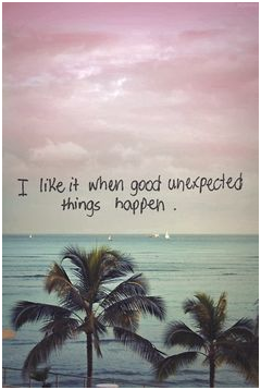 good-unexpected-things